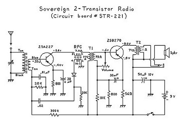 am radio circuit diagram pdf 2석 라디오회로 자료 #15