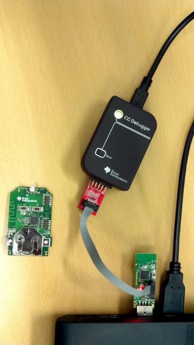 [BLE] TI CC2540 Mini Development Kit 사용하기 - 시작