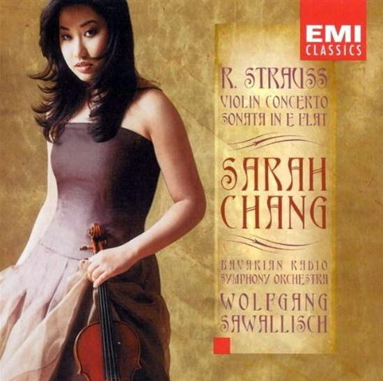 파가니니 / 바이올린 협주곡 제1번 D장조 Op. 6 /사라 장, 바이올린