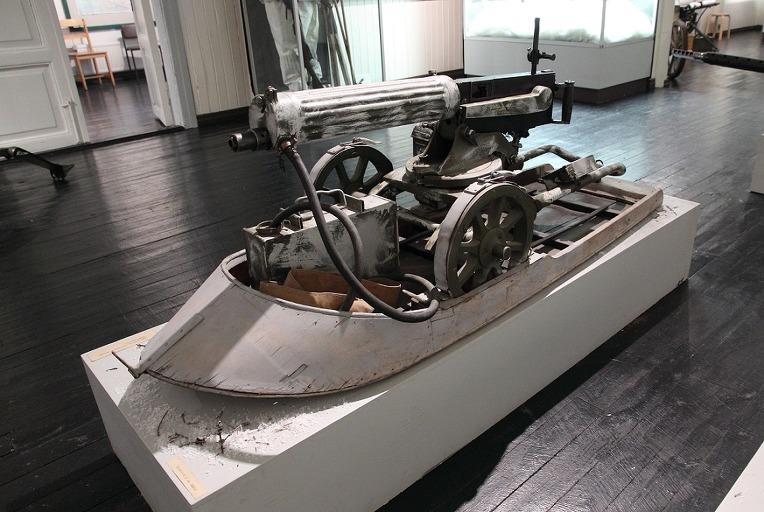 맥심 기관총 썰매 - Maxim Machine Gun sledge