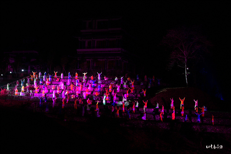 현장에서 느끼는 감동의 순간 16 - 장예모의 인상대홍포 (무이산)