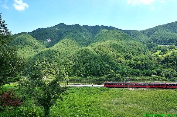 백두대간 협곡열차 V-train (철암역~분탄역)