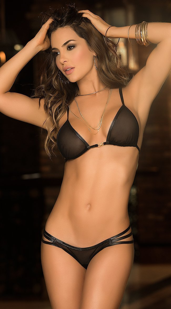 gorgeous lingerie model