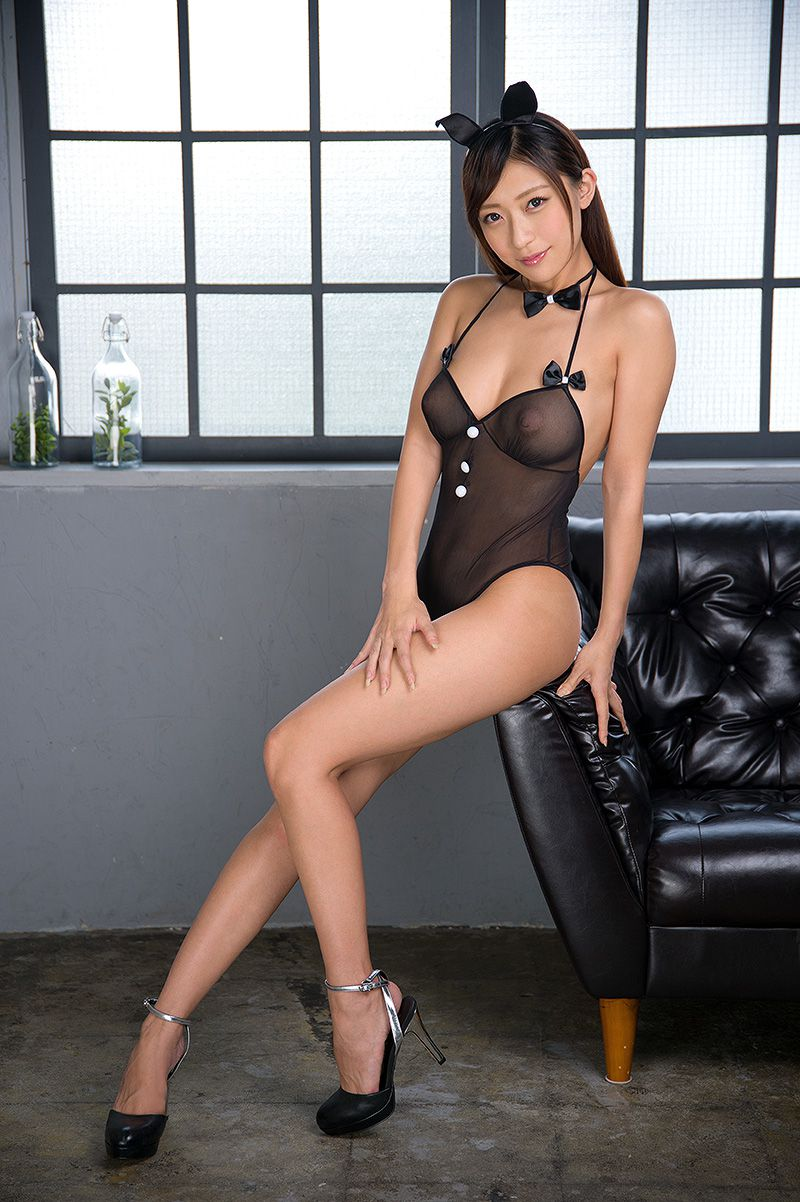 hot Asian in see through lingerie